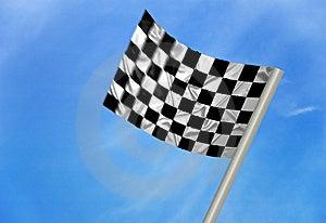 F1 Winnaarvlag Royalty-vrije Stock Afbeeldingen - Beeld: 13961379