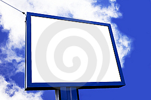 Blank Billboard Royalty Free Stock Photos - Image: 13961898