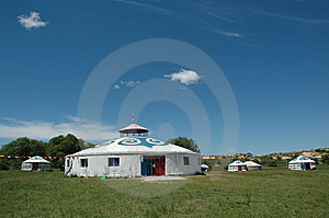 Yurt Stock Images - Image: 13962674