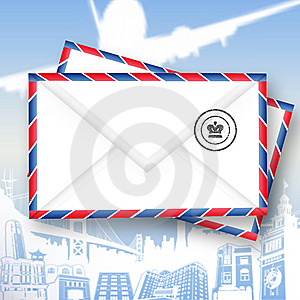 Mail Icon (With Clipping Path) Royalty Free Stock Image - Image: 13965096