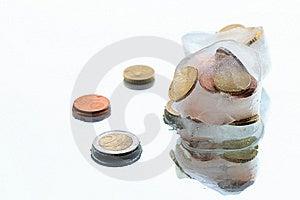 Frozen Money Royalty Free Stock Image - Image: 13966496
