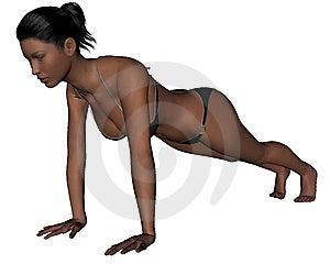 Yoga - Plank Pose Stock Photo - Image: 13967400