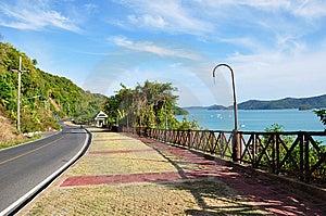 ิฺBeach Of Phuket Town Thailand Royalty Free Stock Images - Image: 13968279