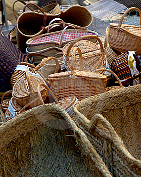 Post Baskets Stock Image - Image: 13968321