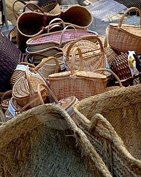 Post Baskets Stock Image - Image: 13968321