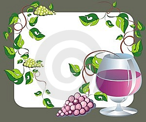 Wine Illustration Royalty Free Stock Photo - Image: 13969135