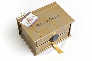 Chocolate And Praline Box Stock Photo - Image: 13971100