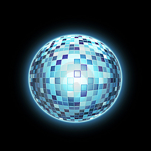 Disco Ball / 3D Sphere Stock Photos - Image: 13971983