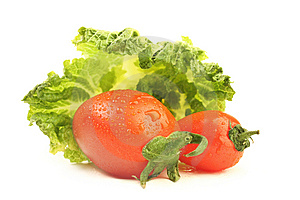 Tomato And Cabbage Stock Images - Image: 13973234
