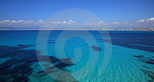 Perfect Blue Seas Royalty Free Stock Image - Image: 13974266
