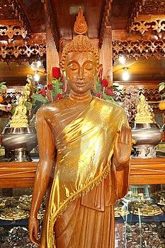 Buddha Wooden Image Stock Photography - Image: 13974842