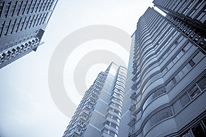 Modern Building In City Stock Images - Image: 13974904