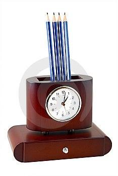 The Clock Stock Photo - Image: 13975690