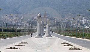 Dali Three Pagodas Yunnan Province Stock Photo - Image: 13976590
