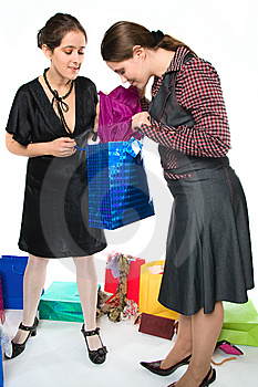 Happy Shopping Royalty Free Stock Photography - Image: 13977107