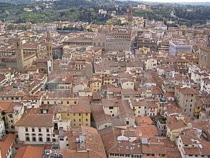 Florence City Centre Stock Photos - Image: 13977963