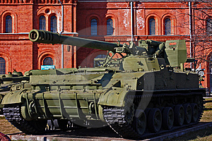 Soviet Union Tank Royalty Free Stock Photography - Image: 13981417