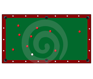Table De Billard Photos libres de droits - Image: 13981538