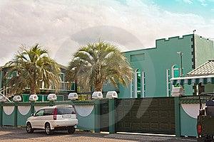Modern Suburban Family Houses Stock Image - Image: 13981841