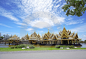 Sala Thai Central Water Royalty Free Stock Photos - Image: 13982418