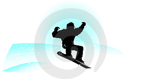 Snowboard Logo Royalty Free Stock Photo - Image: 13984125