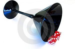 Gamblers Martini Stock Photo - Image: 13986010