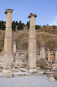 Ruins Of Ancient City Ephesus, Turkey Stock Photos - Image: 13986303