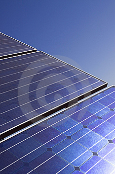 Solar Panels Stock Photography - Image: 13987682