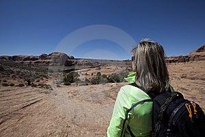 Woman Enjoying View Royalty Free Stock Images - Image: 13988709