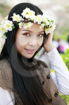 Spring Portrait Royalty Free Stock Photos - Image: 13990858