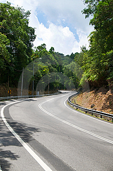 Curve Road Royalty Free Stock Photos - Image: 13993438