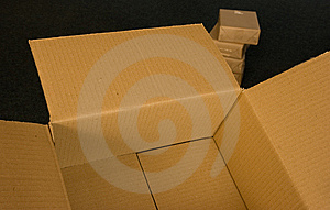 Box And Packages Royalty Free Stock Photo - Image: 13996115