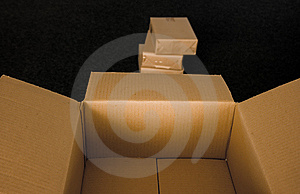 Box And Packages Royalty Free Stock Photo - Image: 13996135