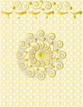 Seamless  Pattern, Wallpaper Background Royalty Free Stock Images - Image: 13996819
