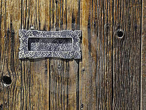 Antique Mail Slot Royalty Free Stock Images - Image: 13997069