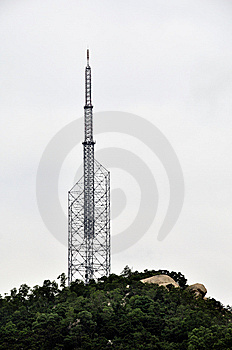 TV Transmitter Stock Image - Image: 13999131