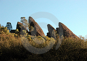 Pinnacles Free Stock Photography