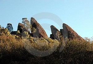Pinnacles Royalty Free Stock Photography