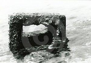 Overzeese Baksteen Stock Fotografie
