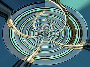 Abstract Circles Free Stock Photo