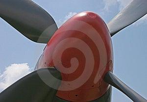 Suporte dos aviões de lutador da segunda guerra mundial F-82 Fotografia de Stock