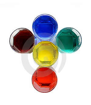 Color Glasses......(3) Free Stock Photo