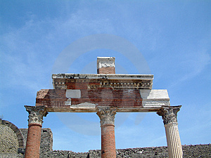 Ruins In Rome Free Stock Photos