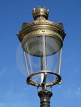 Royal Street Lamp Free Stock Images