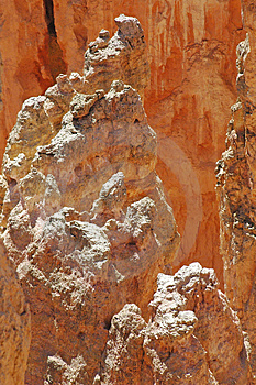 Bryce Hoodoo Stock Images