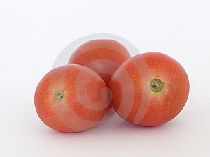 Three Tomatoes Free Stock Photo