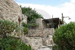 Crete / Summer Appartements Stock Photo