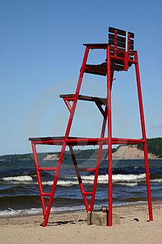 Lifeguard Chair Free Stock Photography