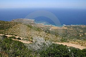 Crète/Westcoast Photographie stock