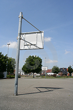 Basketball Field Stock Images
